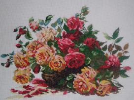 Siuvinėtas paveikslas - puošmena namuose - nuotraukos Nr. 2