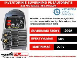 Inverterinis Suvirinimo Pusautomatis 2in1 Mig+mma