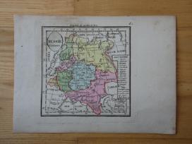 Žemėlapis. Rusija / Lietuva. 1821m. Maire. - nuotraukos Nr. 3