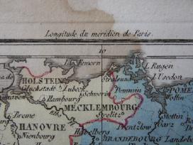Žemėlapis. Prūsija / Lenkija. 1821m. Maire. - nuotraukos Nr. 4
