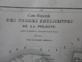 Žemėlapis. Lietuva / Lenkija. 1836m. Chodzko. - nuotraukos Nr. 3