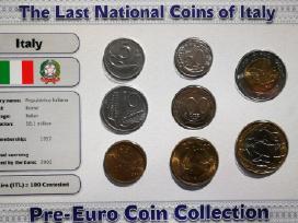 Pries euro buvusiu monetu rinkiniai - nuotraukos Nr. 3