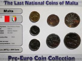 Pries euro buvusiu monetu rinkiniai - nuotraukos Nr. 4