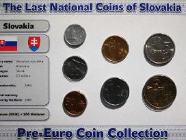 Pries euro buvusiu monetu rinkiniai - nuotraukos Nr. 5