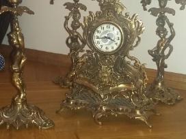 Retro Laikrodis.zvakides.liustras. - nuotraukos Nr. 3