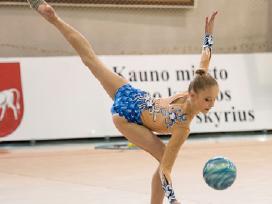 Meninės gimnastikos Triko (kostiumelis) - nuotraukos Nr. 3