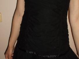 Juoda suknelė - nuotraukos Nr. 2
