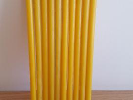 Natūralaus bičių vaško žvakės 0,72 Eur - nuotraukos Nr. 3