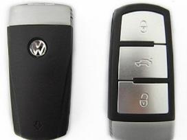 Volkswagen Seat skoda raktai korpusai mygtukai - nuotraukos Nr. 2