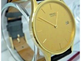 Auksinis laikrodis Seiko