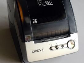 Brother Ql-550 etikečių spausdintuvas