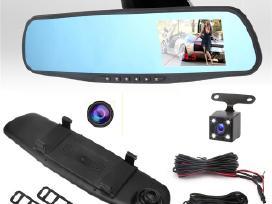 Veidrodis su Registratoriu ir galine vaizdo Kamera