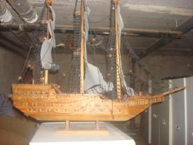 Laivo modelis.