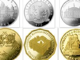 Perku auksines ir sidabrines monetas