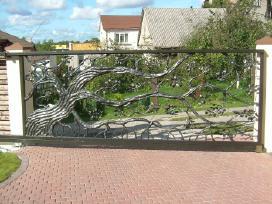 Kalviski vartai ir tvoros - nuotraukos Nr. 2