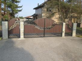 Kalviski vartai ir tvoros - nuotraukos Nr. 11
