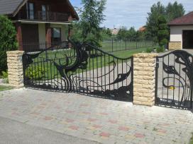 Kalviski vartai ir tvoros - nuotraukos Nr. 12