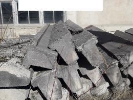 Betonines Kolonos Sijos Blokai Stulpai Aiksteles