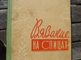 Knyga rusų k. apie mezgimą virbalais