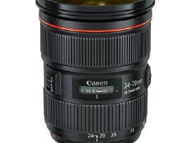 Naujas objektyvas Canon Ef 24-70mm f/2.8 L II Usm