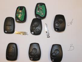 Renault raktai,renault raktas,renault raktu gamyba