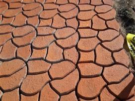 Trinkelių klojimas-betono trinkelių formos - nuotraukos Nr. 19