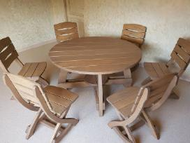 Lauko baldai teras šeši