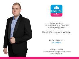 Nekilnojamojo turto brokeris - Airidas Ambrulis