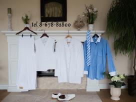Baltas naujas 2xl-3xl kostiumas
