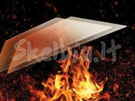 Stiklas židiniui, karščiui atsparus židnio stikas