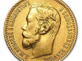 10 rub. auksinė nikolajaus moneta 340-450 eur.