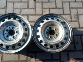 MB plieniniai štampuoti ratlankiai R16