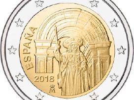 2 euru Unc proginės monetos