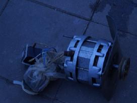 Elektros varikliai ir elektros prietaisu dalys