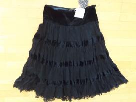 Naujas sijonas - madingas, vintažinis 38dydis