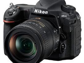Nauji Nikon D500