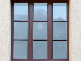 Mediniai langai, durys ir kiti stalių gaminiai - nuotraukos Nr. 13