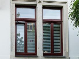 Mediniai langai, durys ir kiti stalių gaminiai - nuotraukos Nr. 17