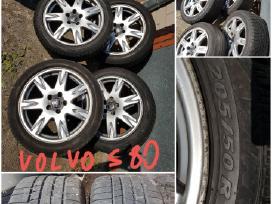 Volvo R17 + R16 lieti diskai su padangomis ar be