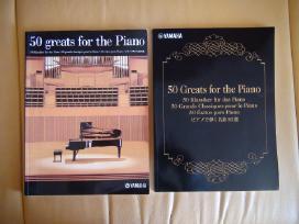 Klavišinių instrumentų natų knygai