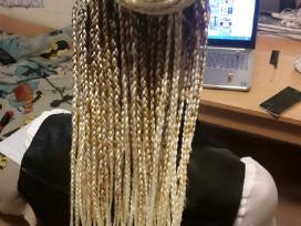 Afrikietiškos kasytės African Braids And Fixes