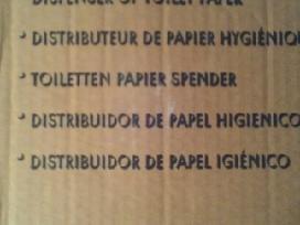 Laikiklis dėklas tualetiniam popieriu