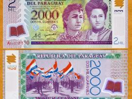 Paragvajus 2000 guaranies 2008m. P228a Unc