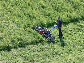 Žolės pjovimas bei technikos nuoma