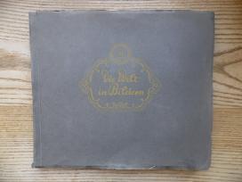 """Tabako kortelių """"Josetti"""" albumas. Iki 1940 metų.1"""