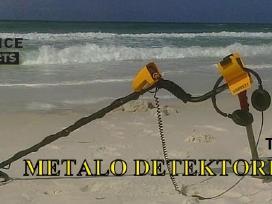 Metalo detektoriaus Garrett nuoma Vilniuje