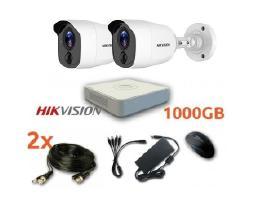 Hikvision 2hd Vaizdo apsaugos stebėjimo komplektas