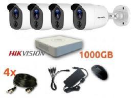 Hikvision 4hd Vaizdo apsaugos stebėjimo komplektas