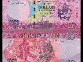 Saliamono Salos 10 Dollars 2017m. P-new Unc