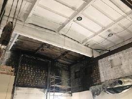 Dazymas po gaisro - nuotraukos Nr. 2
